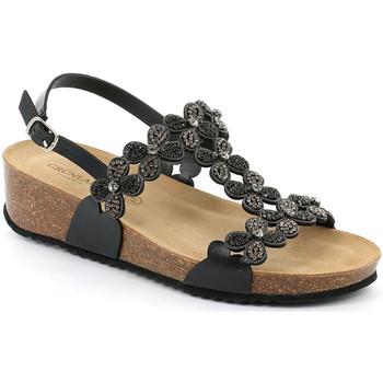 Chaussures Femme Sandales et Nu-pieds Grunland SB1595 Noir