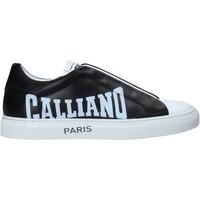 Chaussures Homme Baskets basses John Galliano 11007/CP B Noir