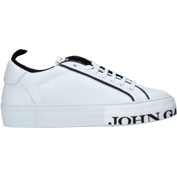 Chaussures Homme Baskets basses John Galliano 11012/CP C Blanc