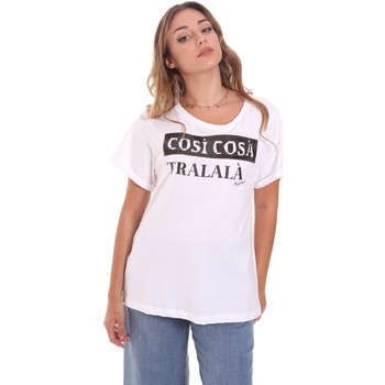 Vêtements Femme T-shirts manches courtes Fracomina FR21ST3025J40010 Blanc