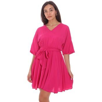 Vêtements Femme Robes courtes Fracomina FR21SD1024W42801 Rose