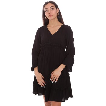 Vêtements Femme Robes courtes Fracomina FR21SD1047W41801 Noir