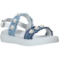 Chaussures Fille Sandales et Nu-pieds Miss Sixty S20-SMS773 Bleu