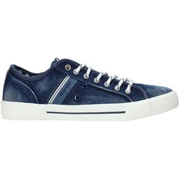 Chaussures Homme Baskets basses Wrangler WM01051A Bleu