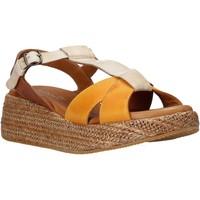 Chaussures Femme Sandales et Nu-pieds Sshady L2404 Marron