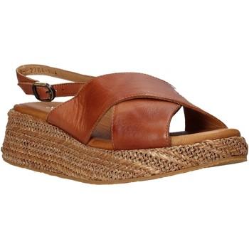 Chaussures Femme Sandales et Nu-pieds Sshady L2410 Marron