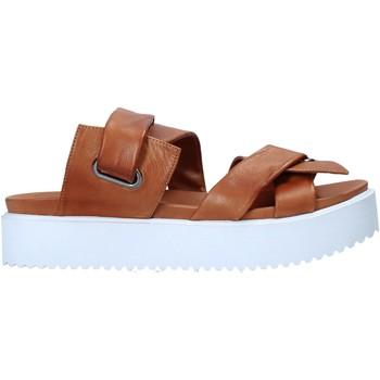 Chaussures Femme Mules Sshady MRT343 Marron