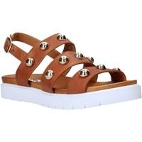Chaussures Femme Sandales et Nu-pieds Sshady MRT126 Marron