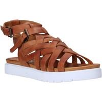 Chaussures Femme Sandales et Nu-pieds Sshady L2306 Marron