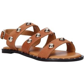 Chaussures Femme Sandales et Nu-pieds Sshady MRT2117 Marron
