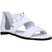Chaussures Femme Sandales et Nu-pieds Sshady MRT2202 Blanc