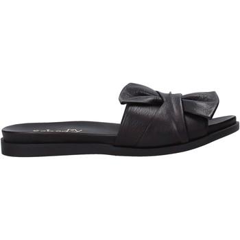 Chaussures Femme Mules Sshady MRT231 Noir