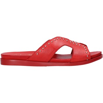 Chaussures Femme Mules Sshady MRT233 Rouge