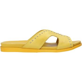 Chaussures Femme Mules Sshady MRT233 Jaune