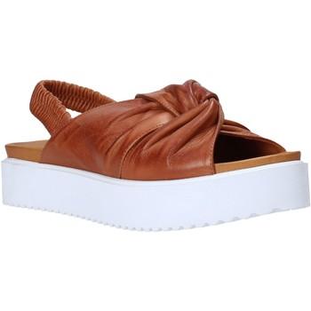 Chaussures Femme Sandales et Nu-pieds Sshady MRT77 Marron