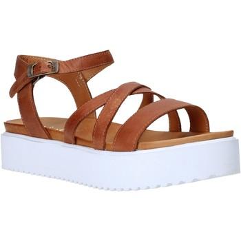Chaussures Femme Sandales et Nu-pieds Sshady L2304 Marron