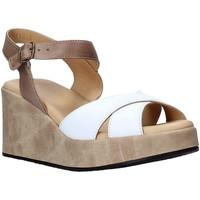 Chaussures Femme Sandales et Nu-pieds Sshady L2503 Blanc