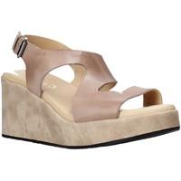 Chaussures Femme Sandales et Nu-pieds Sshady L2505 Marron
