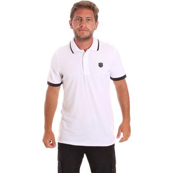 Vêtements Homme Polos manches courtes Roberto Cavalli FST692 Blanc