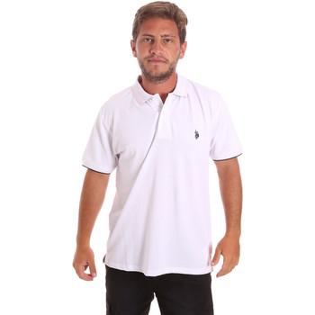 Vêtements Homme Polos manches courtes U.S Polo Assn. 51140 41029 Blanc
