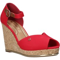 Chaussures Femme Sandales et Nu-pieds Wrangler WL01531A Rouge