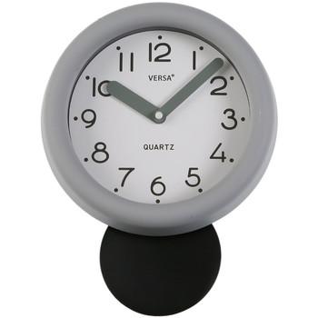 Maison & Déco Horloges Retro Pendule de cuisine  Grise Gris