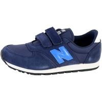 Chaussures Garçon Baskets basses New Balance YV420SB Bleu marine Bleu