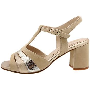Chaussures Femme Sandales et Nu-pieds Piesanto 190258 Beig
