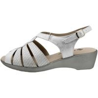 Chaussures Femme Sandales et Nu-pieds Piesanto 190392 Plata