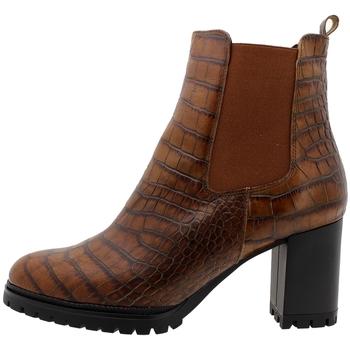 Chaussures Femme Bottines Piesanto 195432 Marrón