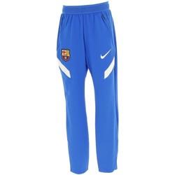 Vêtements Garçon Pantalons de survêtement Nike Barca pant jr 2021.22 home Bleu moyen