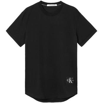 Vêtements Homme T-shirts manches courtes Calvin Klein Jeans T-shirt  ref 52704 BAE Noir Noir