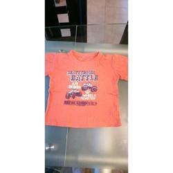 Vêtements Garçon T-shirts manches courtes Sans marque T-shirt manches courtes Orange 6 ans Orange