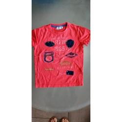 Vêtements Garçon T-shirts manches courtes Les Petites Canailles T-shirt manches courtes Rouge