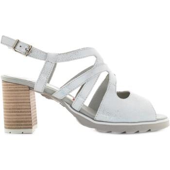 Chaussures Femme Sandales et Nu-pieds CallagHan 24802 Argento