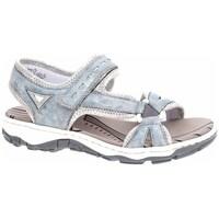 Chaussures Femme Sandales sport Rieker 6887912 Gris