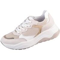 Chaussures Femme Baskets basses IgI&CO Eva Blanc, Beige