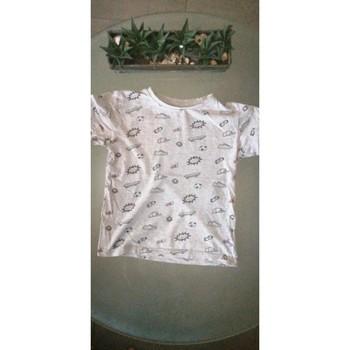 Vêtements Enfant T-shirts manches courtes Tissaia T-shirt manches courtes Gris