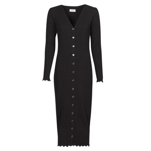 Vêtements Femme Robes longues Betty London PIKKI Noir