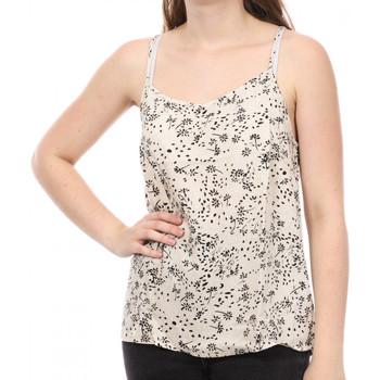 Vêtements Femme Débardeurs / T-shirts sans manche Jacqueline De Yong 15226821 Blanc cassé