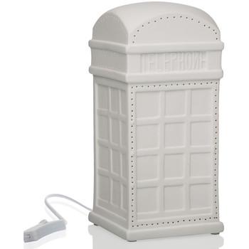 Maison & Déco Lampes à poser Londres Veuillez choisir votre genre Cabine téléphonique Blanc