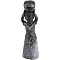 En vous inscrivant vous bénéficierez de tous nos bons plans en exclusivité Statuettes et figurines Zen Et Ethnique Statuette décorative garçon Africain 25.5 cm Noir