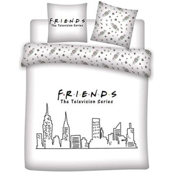 Maison & Déco Enfant Housses de couettes Friends 63788 Blanco