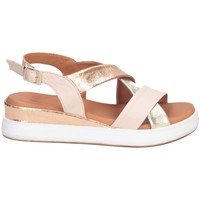 Chaussures Femme Sandales et Nu-pieds Hersuade 1700 Sandales Femme POUDRE / OR POUDRE / OR