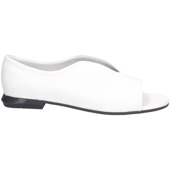 Chaussures Femme Sandales et Nu-pieds Hersuade 4001 Sandales Femme BLANC NOIR BLANC NOIR