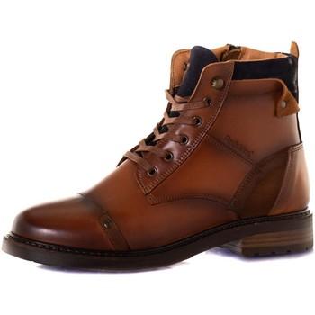 Chaussures Femme Bottines Chaussures Redskins FLORINE COGNAC MARINE Cognac