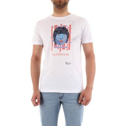 Vêtements Homme T-shirts manches courtes Dreamers 05IN BLANCHE