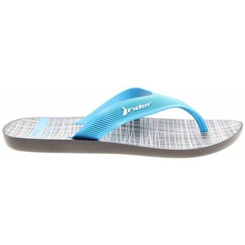 Chaussures Homme Tongs Rider 1107321591 Blanc, Turquoise
