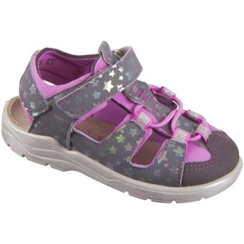 Chaussures Fille Sandales sport Ricosta Gery Gris, Rose