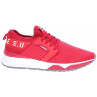 Chaussures Homme Baskets basses S.Oliver 551363924500 Blanc, Rouge